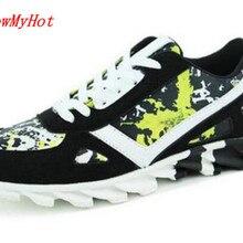 Лидер продаж; сезон весна-лето; мужские кроссовки; повседневная мужская обувь из сетчатого материала; zapatillas hombre; повседневная обувь на плоской подошве; красные ботинки на шнуровке