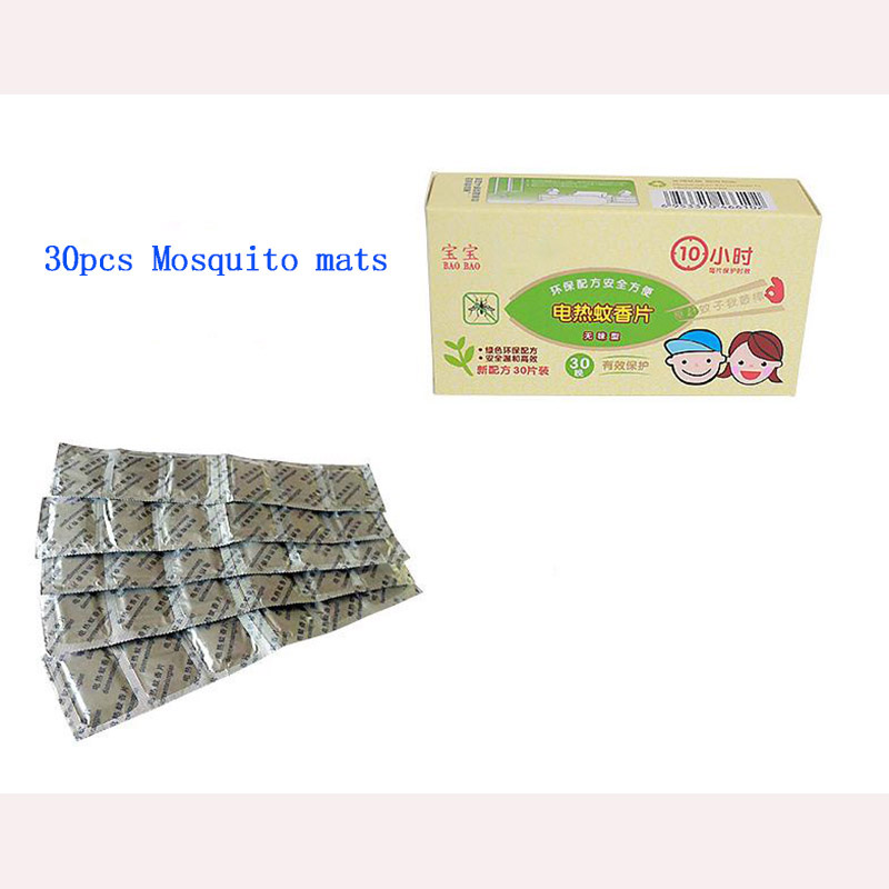 30pcs lot Electric Mosquito Killer Mats Tablet Insect Anti Mosquito Pest Repeller No Toxic Pest Mosquito Repellent For Home Safe in Repellents from Home Garden