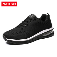 Nanjiren Men Shoes  Mesh Men/Women Couple Lac-up Lightweight