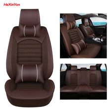 HeXinYan Universal Car Seat Covers for Peugeot all models 206 307 2008 208 308 406 301 407 207 3008 508 607 auto styling ксенон kingwood 508 301 3008 2008
