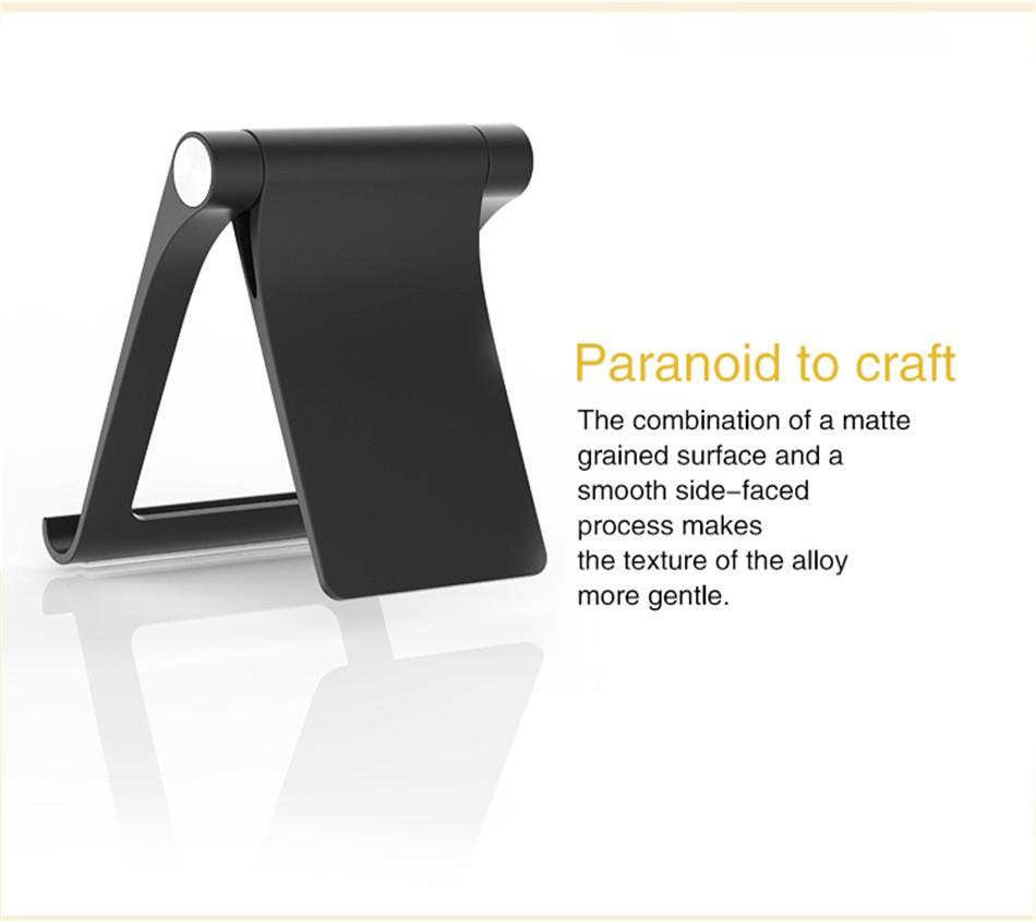 Universal Adjustable Phone Holder Stand For 7 8 Plus X Mobile Phones Hard PC Folding Tablet Stand Holder For S9 (4)