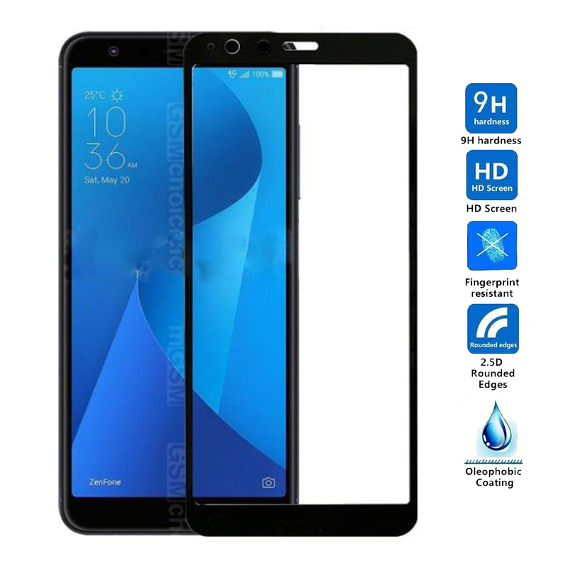 For Asus Zenfone Max Plus M1 Tempered Glass Screen Protector For Asus Zenfone Max Plus M1 ZB570TL X018D Screen Protector Glass