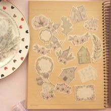 38pcs winter purple house fruit design sticker as Gift Tag Decoration scrapbooking DIY Sticker wedding birthday party gift seal