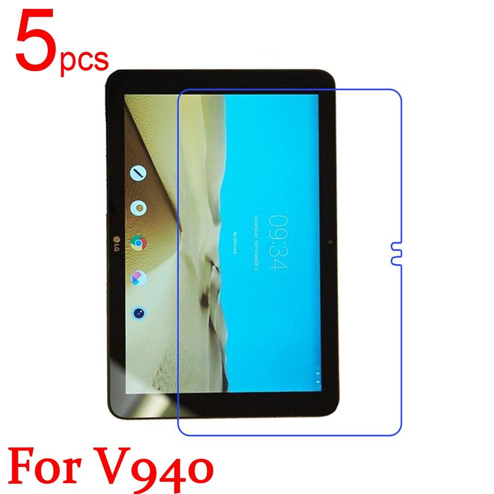 5pcs glossy/Matte/Nano anti-Explosion Screen Protector Film Cover For LG G Pad V940/VK815/V500/V495 V496 Protective Film+cloth