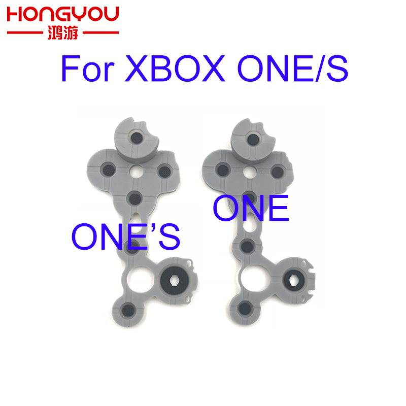 Original For XBOX ONE Silicon Conductive Rubber Conductive Rubber Button For Xbox One S Controller D Pad