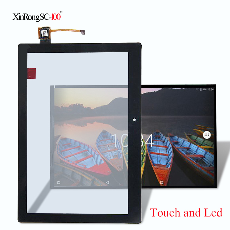 New Touch Screen Digitizer Glass lcd display Replacement for Lenovo Tab 2 A10-70 A10-70F A10-70L ZA01 wifi 10.1 inch Free Ship цена 2017