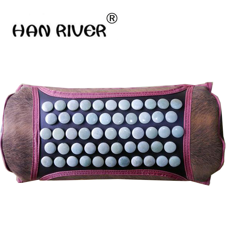 все цены на Jade cervical pillow ms tomalin far infrared heating neck pillow health care massage pillow electric energy