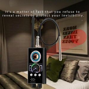 Image 3 - Anti Spy RF Detector Wireless Bug Detector Signal for Hidden Camera Laser Lens GSM Listening Device Finder Radar Radio Scanner