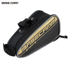 Saddle Bag Bicycle 3D Shell Rainproof Reflective Shockproof MTB Cycling Rear Seat PVC PU Leather Men