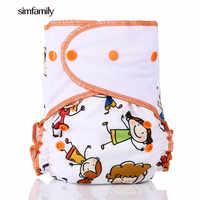 [Simfamily] Neue Ankunft Wasserdichte Wildleder Tuch One Size Reusable Tasche Windeln Baby Tuch Windel PUL Baby Windel Großhandel