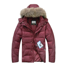 Down-Jacket Hooded Men's Winter Casual Warm Thick Russian-Size High-Quality