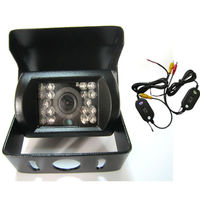 wireless HD SONY 170 Degree IR Nightvision Waterproof Car parking Rear View Camera Cmos Bus Truck Camera For Bus & Truck