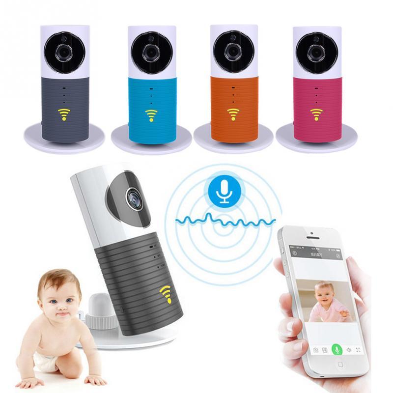 720 P Mini caméra intelligente IP de sécurité chien intelligent avec Wifi H.264 stockage de carte TF sans fil avec prise US