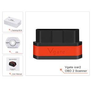 Image 5 - Vgate obd2 ELM327 icar2 strumento diagnostico WIFI Mini Car Scanner elm 327 V2.1 WIFI adattatore automatico per IOS/android OBD 2 lettore di codice