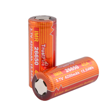 20pcs/lot TrustFire IMR 26650 4200mAh 3.7V 45A 15.54Wh High-Rate Rechargeable Li-ion Battery for E-cigarette Electric toy