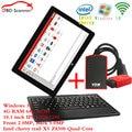 Intel Win10 Tablet +vdm ucandas v3.9  Wifi Universal Automotive Scanner  OBD2 Car Diagnostics Scanner