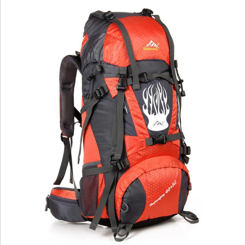 Hiking Outdoor Travel Backpacks Men Women Sports Bag Waterproof Hunting Camping 50L Backpack Rucksack