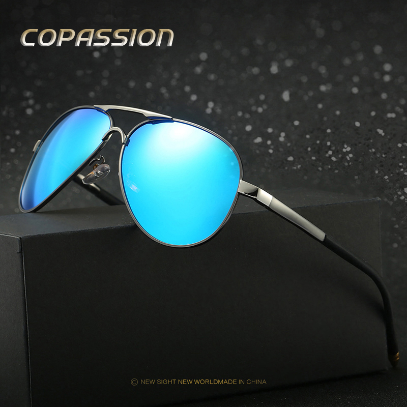HD polarized sunglasses men 2017 New Brand designer UV400 goggles womens leisure eyewear Fashion glasses driver oculos de sol