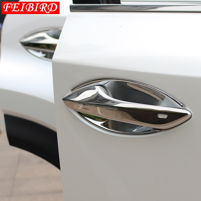Exterior For Side Car Door Handle Cover handle bowl Cover Trim Molding <font><b>Accessories</b></font> For <font><b>LEXUS</b></font> NX <font><b>NX200T</b></font> NX300T <font><b>2015</b></font> 2016 2017 image