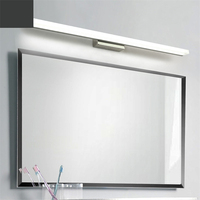 Modern Led Vanity Lights Bedroom Bathroom Toilet Mirror Cabinet Light Creative Dressing Mirror Vanity Table Makeup Vanity Desk
