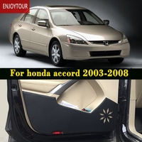 car door anti-kick pads protection accessories for honda accord 2003 2004 2005 2006 2007 7th generation
