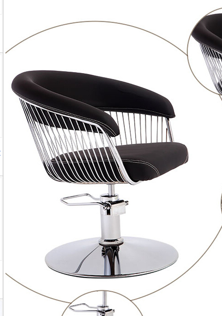 New High End Styling Cotton Hair Salons Dedicated Barber Chair. Drop  Haircut Chair.