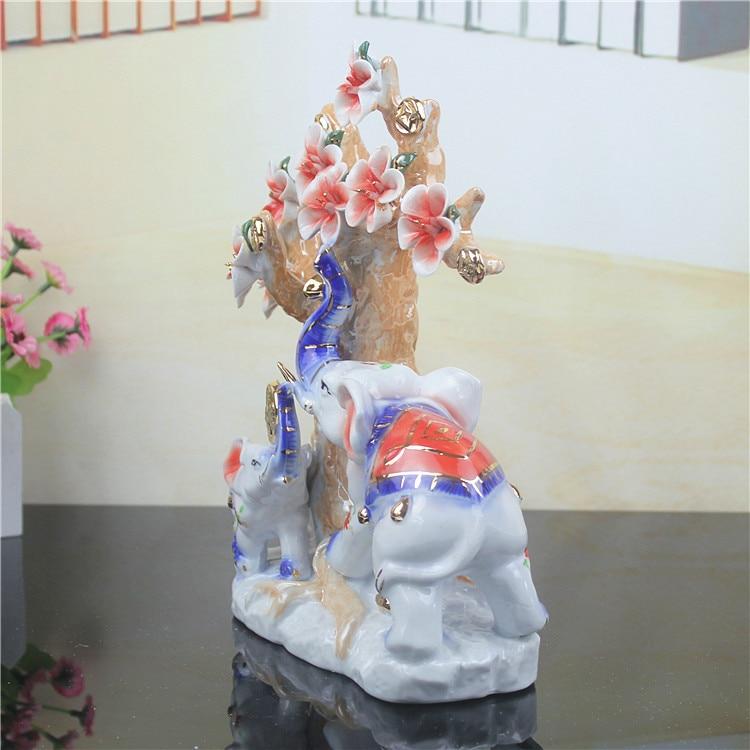 Свадебный подарок Домашнее украшение новые дома любителей керамических ремесел украшение животных 1 пара - 5
