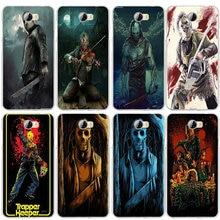 Película de Horror iconos Flexible para Huawei P8 P9 P10 P20 P30 Mate 10 Lite Pro Y3 Y5 Y6 II Honor 7 fundas de teléfono suaves inteligentes