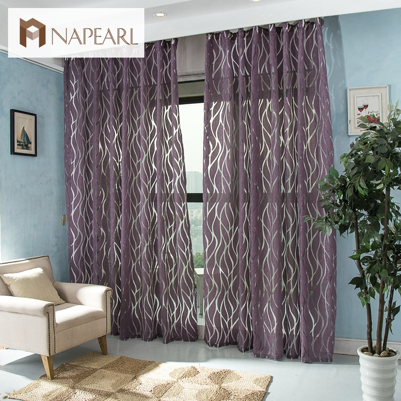 Modern curtain 3d bedroom curtains window fabric curtains - Modern fabrics for curtains ...