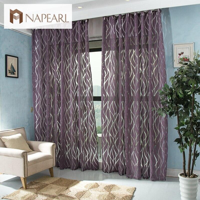 NAPEARL Moderne vorhang 3d vorhänge schlafzimmer stoff vorhänge ...