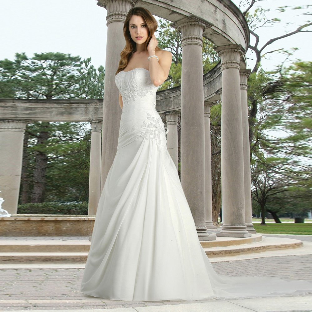 Online Buy Wholesale wedding dresses tall women from China wedding ...
