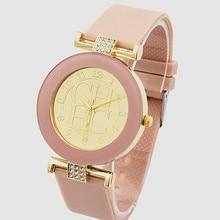 relogios femininos Fashion Brand Gold Geneva sport Quartz Watch Women gown informal Crystal Silicone Bear Watches montre homme