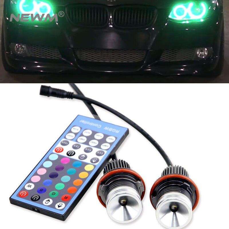 Новинка! RGBW светодиодный маркер свет с ИК Дистанционное управление для BMW 1 5 6 7 серии E87 E39 E53 E60 E61 E63 E64 E65 E66 X5