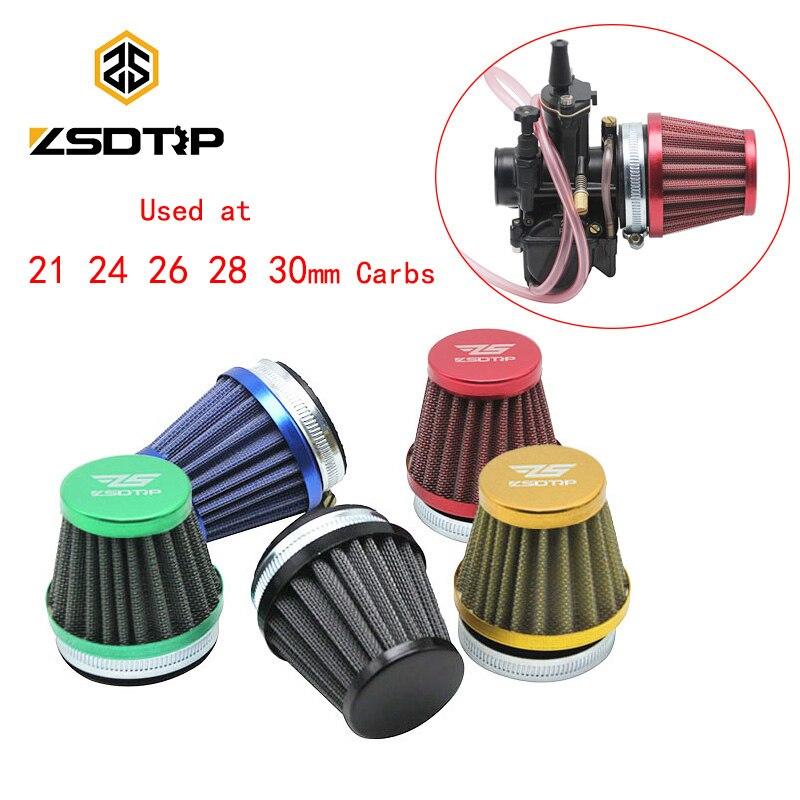 ZSDTRP 50mm Copo Do Filtro de Ar Do Carburador de Moto Modificada para Keihin OKO KOSO PWK 2 T/4 T 21 24 26 28 30mm Carburador