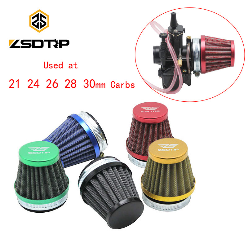 ZSDTRP 50mm Motorcycle Modified Carburetor Air Filter Cup for Keihin OKO KOSO PWK 2T/4T 21 24 26 28 30mm CarburadorZSDTRP 50mm Motorcycle Modified Carburetor Air Filter Cup for Keihin OKO KOSO PWK 2T/4T 21 24 26 28 30mm Carburador