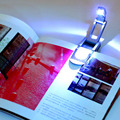 Portable Super Bright Clip On Adjustable LED Book Desk Light Reading Booklight Lamp Bulb For Kindle Free Shipping