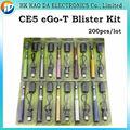 Kits Blister Cigarro eletrônico Ce5 Atomizador Ego-T Bateria 650 mah 900 mah 1100 mah EGO CE5 Verde Cartão Kits melhor E-cig 200 pçs/lote