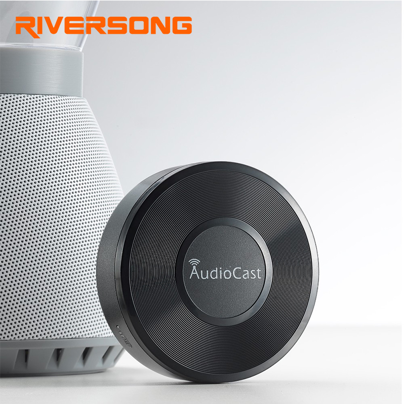 Riversong Audiocast WIFI Audio Receiver Airplay DLNA WiFi Music Receiver iOS Android Audio Speaker Spotify Sound
