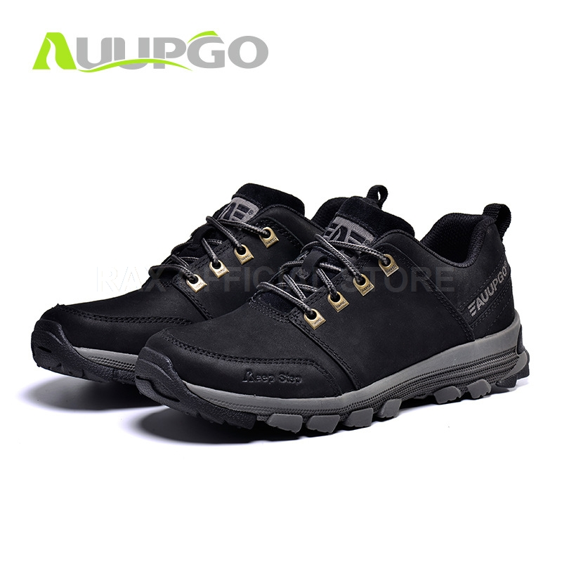 CA Men Hiking Shoes Waterproof Hiking Boots For Men Genuine Leather Hiking Shoes Breathable Mountain Walking Climbing Shoes Man clorts outdoor hiking shoes walking men climbing shoes sport boots hunting mountain shoes non slip breathable hunting boots