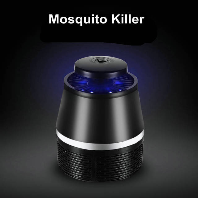 BUYBAY Brand USB Electric Mosquito Repellent LED Lights No Radiation Photocatalyst Mosquito Killer Lamp Insect Trap Light 3
