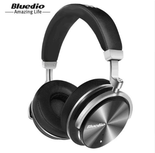 Bluedio T4 Headphone Bluetooth Headphones Wireless Wire Earphone Portable Microphone Bluetooth Music Headset in Bluetooth Earphones Headphones from Consumer Electronics