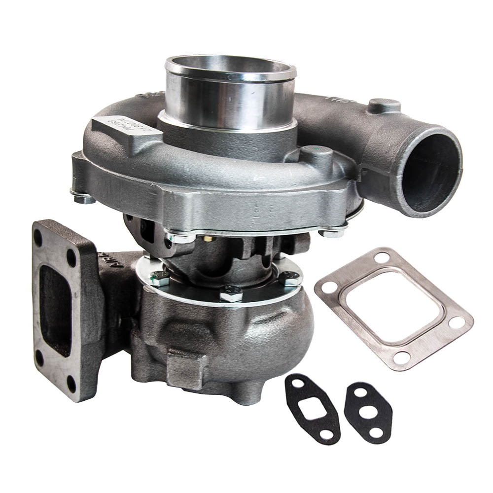 T3 T4 T04E. 63 A/R Universel Turbo Turbocompresseur pour 1.6L-2.5L 3.2L-5.0L 400HP Pour Civic CRX 88- 91 D16 D16 Y7 D16Y Chargeur