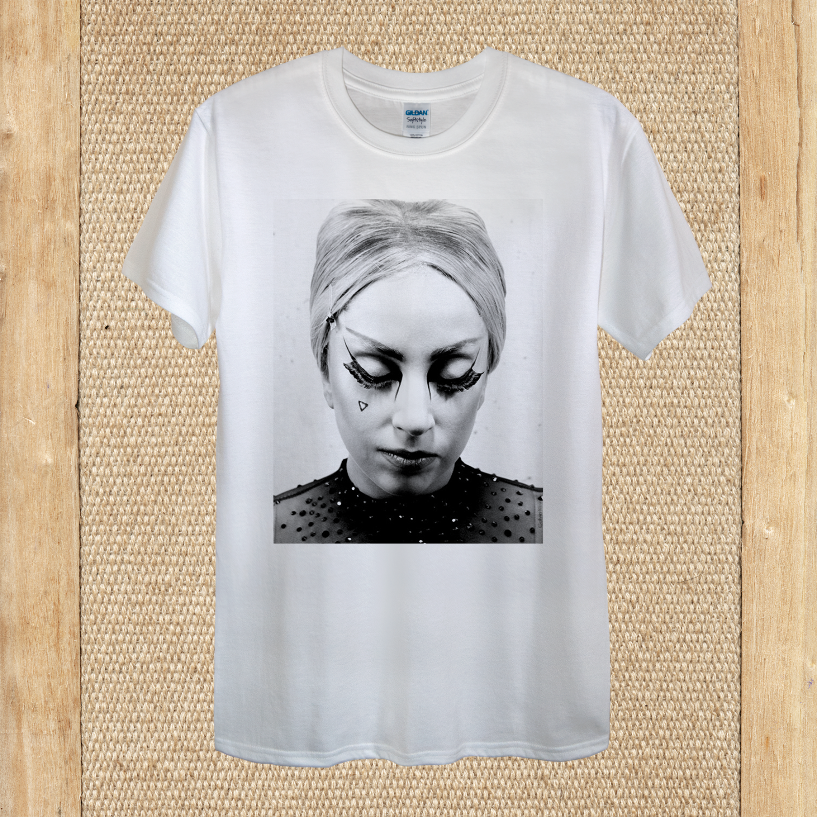 Lady Gaga Pop Music Legend High Quality Print 100% Cotton unisex women