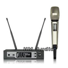Новый Высокое качество Профессиональный SKM9100 верно разнообразие портативных Беспроводной микрофон Профессиональный Lavalier Клип микрофон гарнитуры