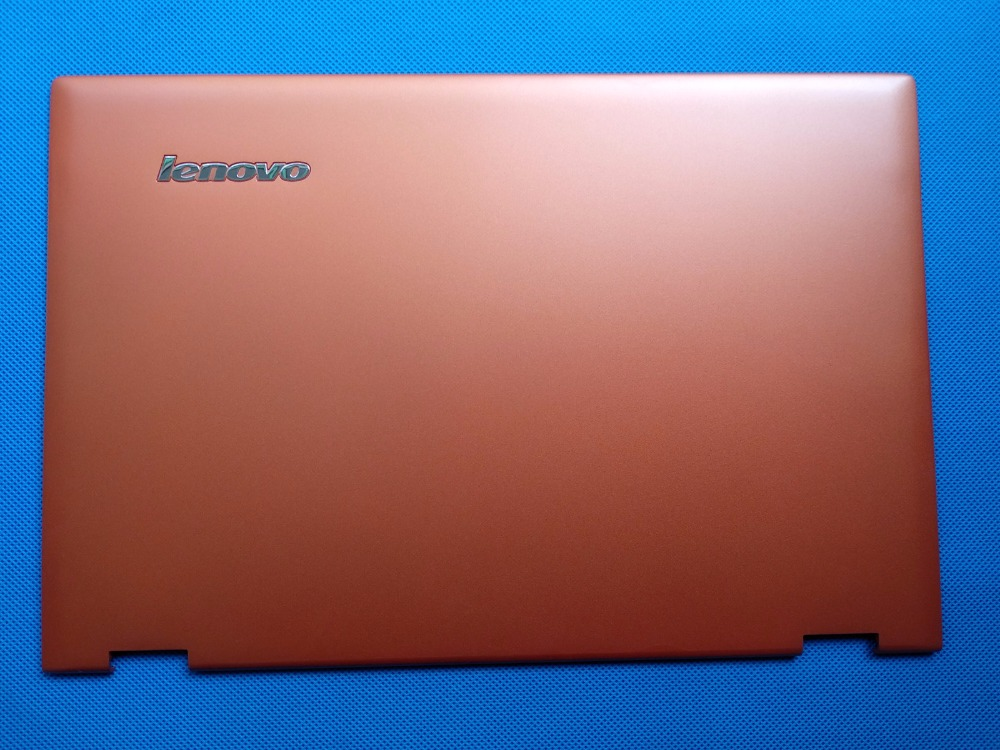 New/Orig Lenovo Ideapad Yoga 2 Pro 13 13 Lcd back rear cover AM0S9000300 Orange Laptop Replace Cover ebsd image