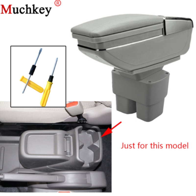 For Nissan NV200 2010 2011 2012 2013 2014 2015 2016 2017 Armrest Box Central Console Arm Rest Box Cup Holder Ashtray Car Styling