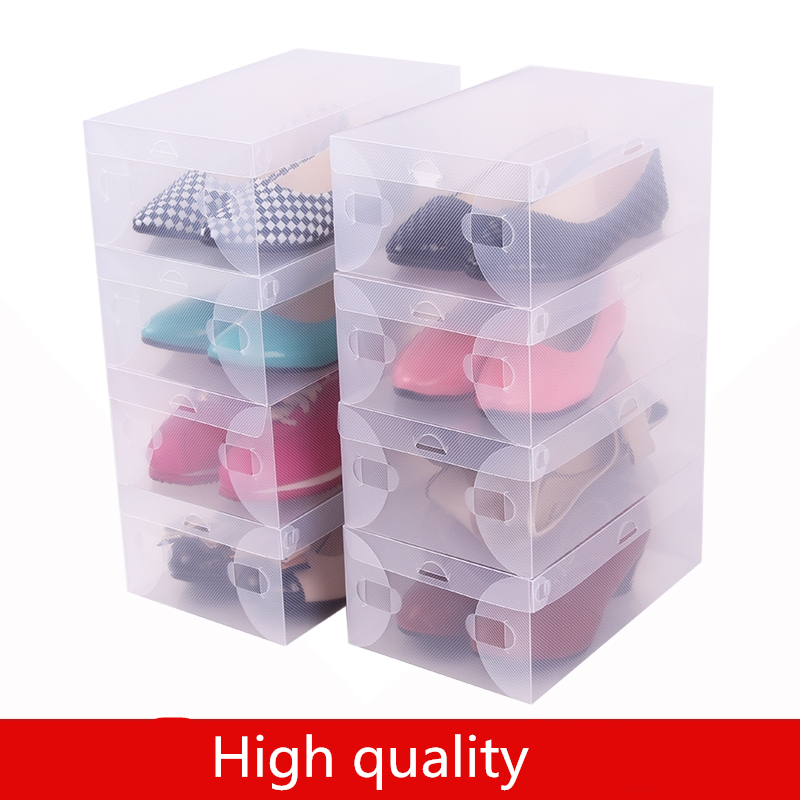 Clear Plastic Shoe Boxes