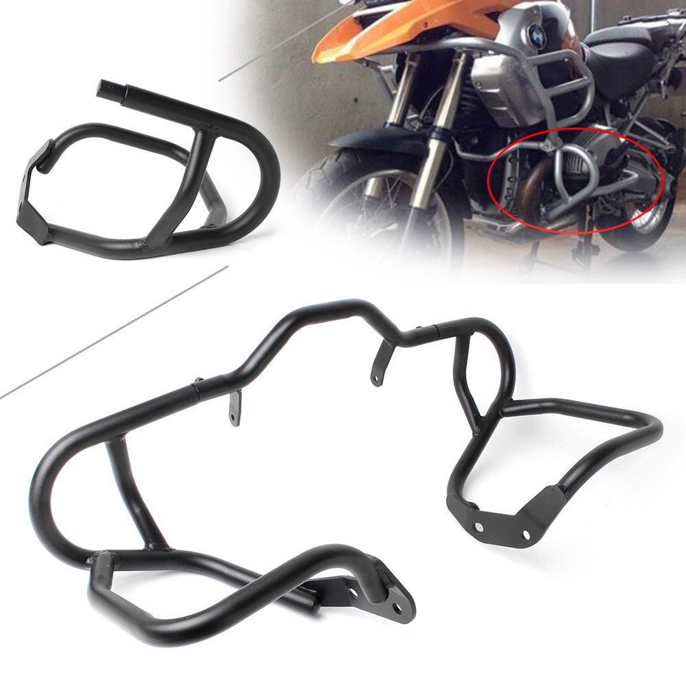Motorcycle Engine Guard Front Lower Highway Crash Bar Protector for BMW R1200GS 2004 2005 2006 2007 2008 2009 2010 2011 2012 motorcycle anti crash device guards front protector fence bumper front side frame for honda cb400 vtec 1999 2012 2011 2010 2009