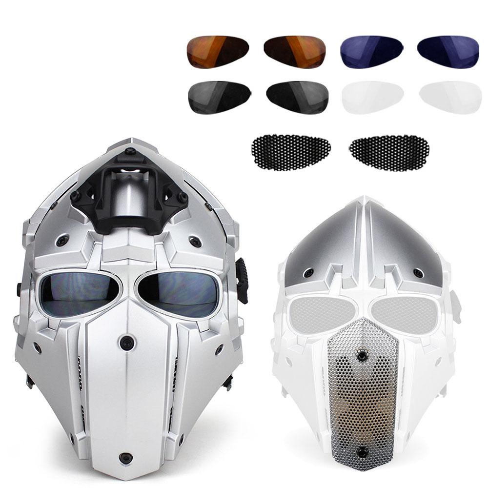 Vehemo Собранный модульный велосипедный шлем тактический шлем аксессуары защитное платье украшение шлем Велосипедная гарнитура - Цвет: silver