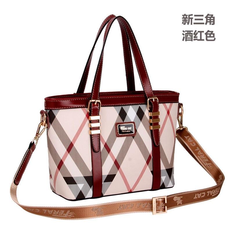 6Colors 2017 New Fashion Soft High Quality Leather Tassel Women's Handbag Ladies Shoulder Tote Messenger Bags Purse Satchel